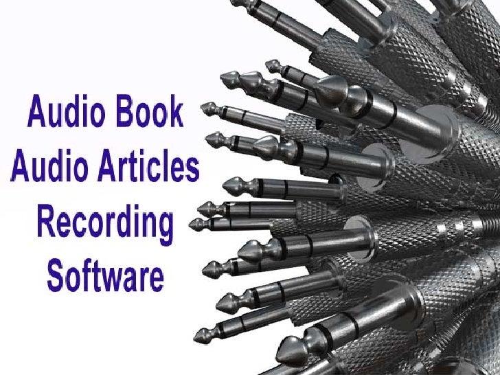 Audio Book Research