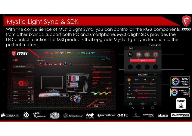 Msi Mystic Light Sdk Download