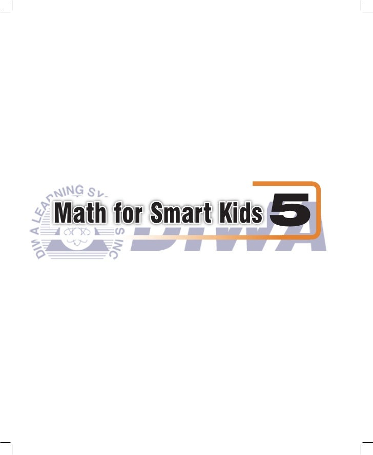 Math for Smart Kids   5
