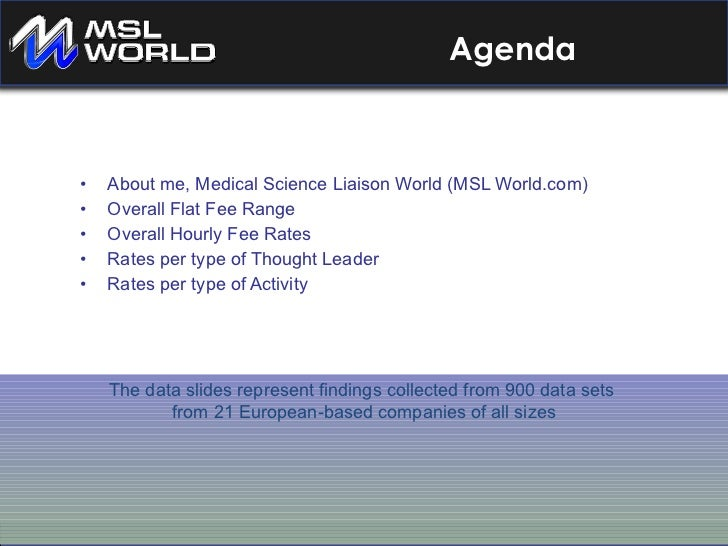 Key Opinion Leader Compensation and KOL and Medical Science Liaison Interactions Slide 2
