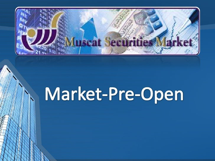 Market-Pre-Open<br />