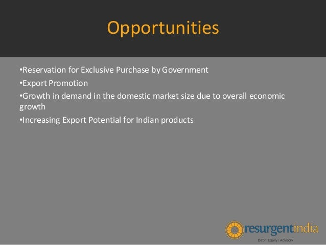 export financing in msme sector Micro finance programme 06 6 msme market development assistance (mda) 07  export credit guarantee corporation of india limited  scheme for development of.
