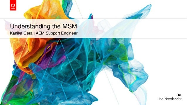 Understanding the MSM Kanika Gera | AEM Support Engineer