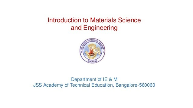 Material Science and Metallurgy