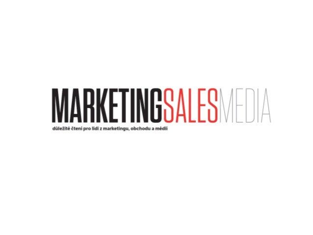 MarketingSalesMedia je první titul v České republice určený primárně pro zadavatele reklamy s řízenou distribucí, která po...