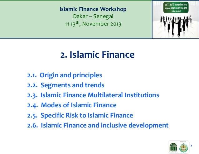 summary of islamic financial product