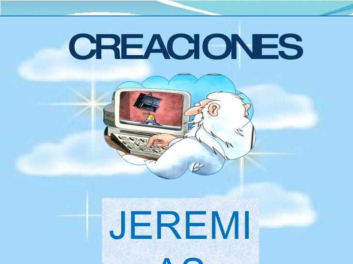 CREACIONES JEREMIAS
