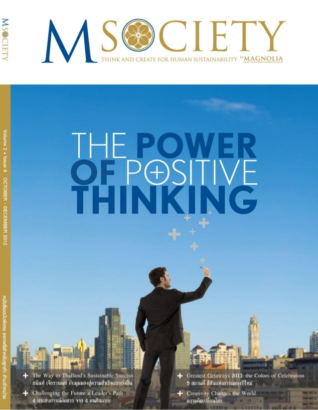 CONTENTS                                             Positive                M Society  october - december 2012           ...