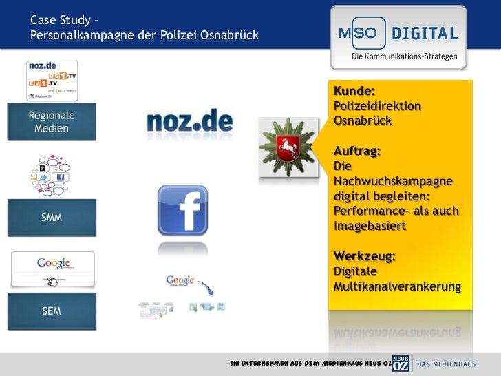 Case Study –Personalkampagne der Polizei Osnabrück                                                            Kunde:      ...