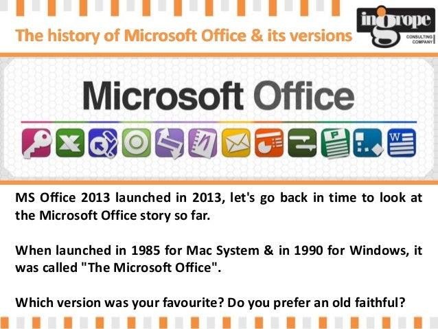 Ms office history for Bureau word origin