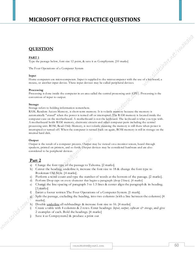 microsoft office question and answer - Monza berglauf-verband com