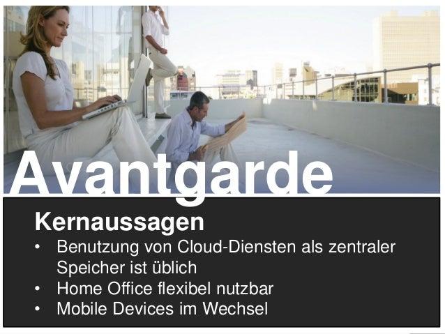 15 Kernaussagen • Benutzung von Cloud-Diensten als zentraler Speicher ist üblich • Home Office flexibel nutzbar • Mobile D...