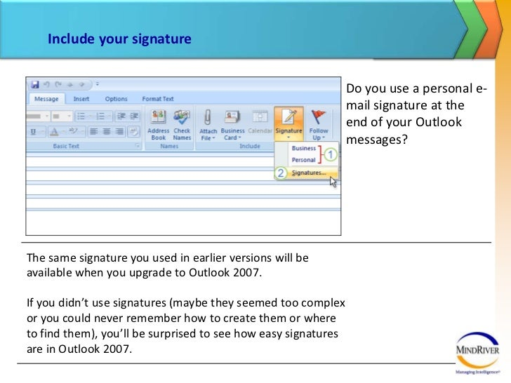 how to set microsoft outlook 2007