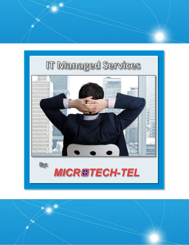 There's a lot to discuss when referring to IT Managed Services. Keep an eye on critical IT infrastructure 24x7 with remote...