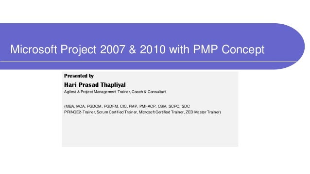 cours ms project 2007 pdf