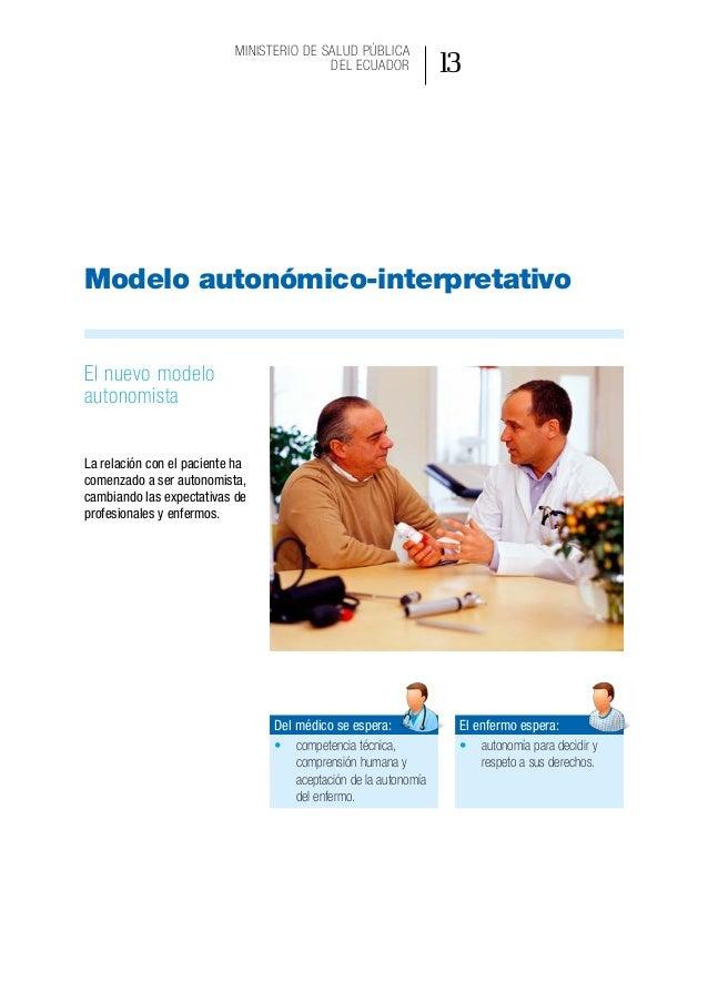 Modelo de gestión de aplicación del consentimiento informado en la práctica asistencial 18 • Los pacientes tienen derecho...