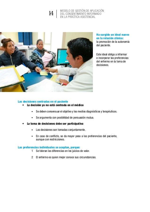 """19 Ministerio de Salud Pública del Ecuador Ley de Derechos y Amparo al Paciente Art. 6: """"Derecho a decidir.- Todo paciente..."""