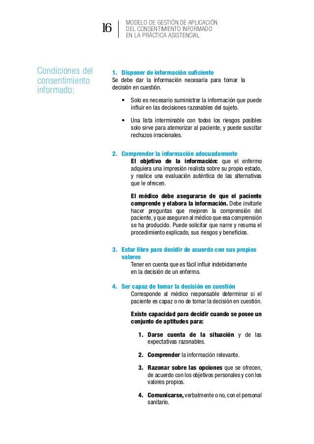 Resumen del Acuerdo Ministerial 5316 Modelo de Gestión de Aplicación del Consentimiento Informado en la Práctica Asistenci...