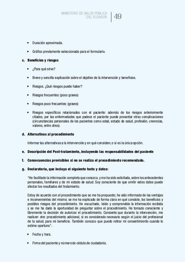 57 Ministerio de Salud Pública del Ecuador FICHA DE CARACTERIZACIÓN FECHA:30-07-2015 VERSION: 002 CLIENTES EXTERNOS • Est...