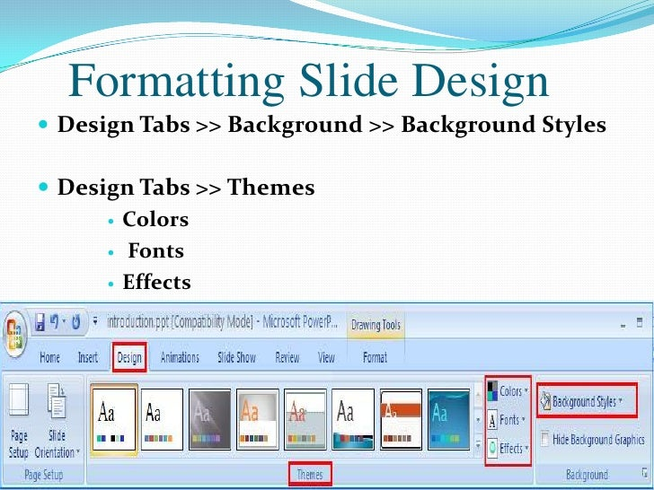 design for microsoft powerpoint 2007