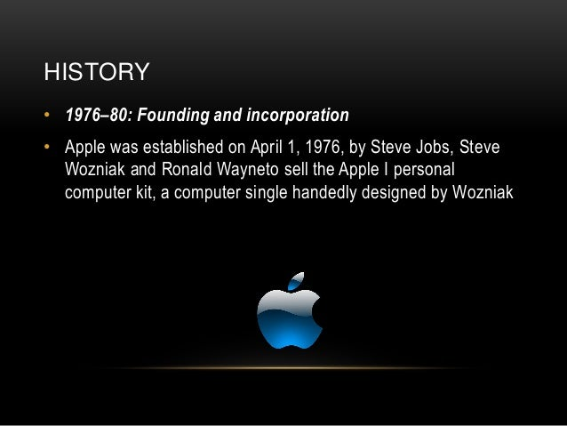 apple corporation Apple inc: apple inc, american manufacturer of personal computers, computer peripherals, and computer software it was the first successful personal computer company and the popularizer of the graphical user interface.
