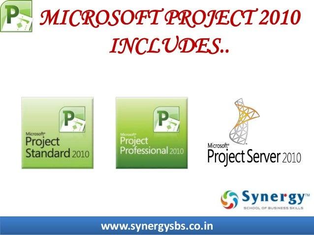 ms project std 2010