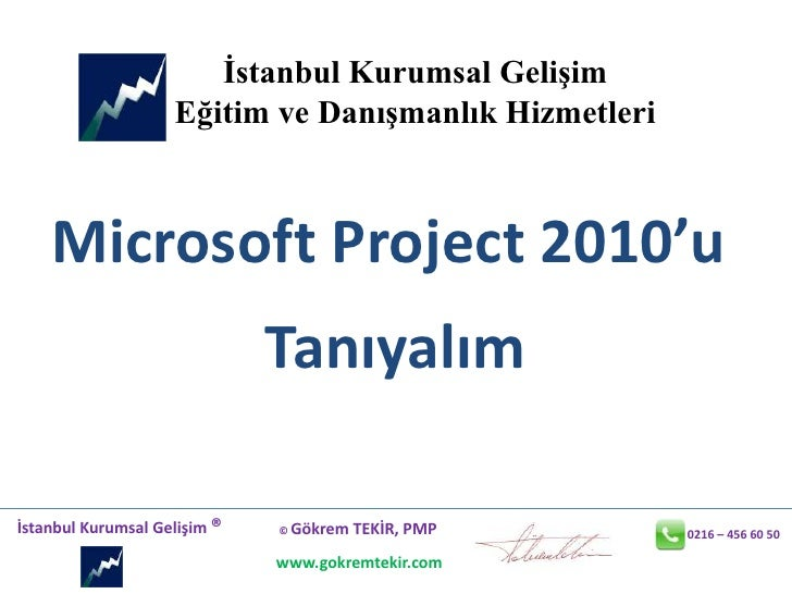 Ms Project 2010 U Taniyalim