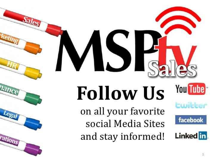 Follow Us<br />on all your favorite <br />social Media Sites <br />and stay informed!<br />1<br />