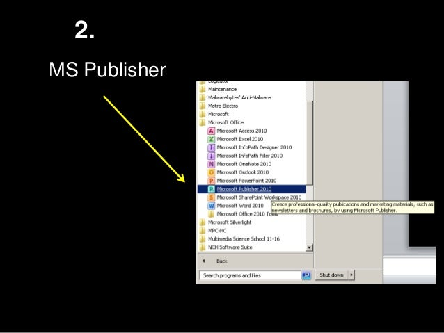 Ms Publisher How To Create A Newsletter