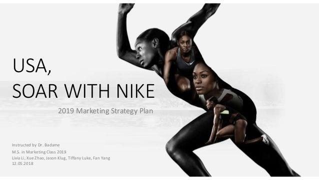 profundo Pasteles Amabilidad  Marketing Strategy Plan_Nike athletic shoes_2019