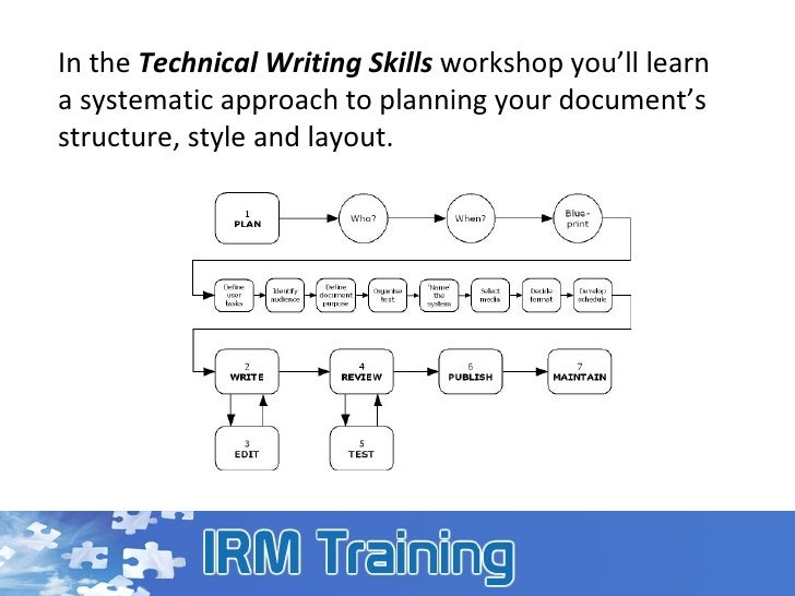 what is technical writing skills Assessment: rubrics for assessing students' technical writing skills purpose:  when grading lab reports for previous versions of this course, we found that.