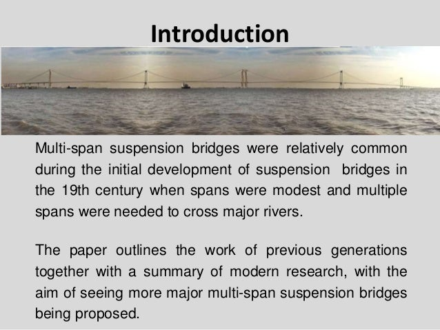 thesis span-by-span bridges In the doctoral dissertation a live load model for long span structures was derived   appropriate for long span bridges due to different types of structure and.