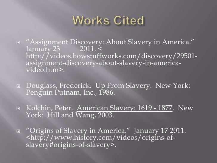 peter kolchin american slavery Trans-atlantic slave trade no longer translated into a gradual or easy end to slavery in american slavery, peter kolchin even suggests that the end of the.