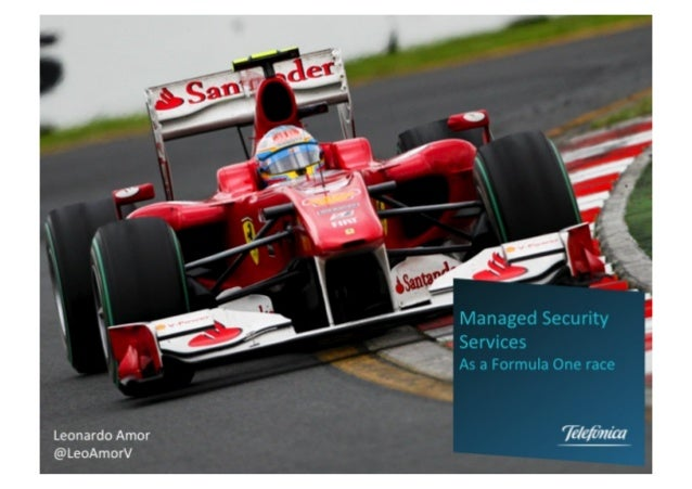 Managed Security Services as a Formula1 race