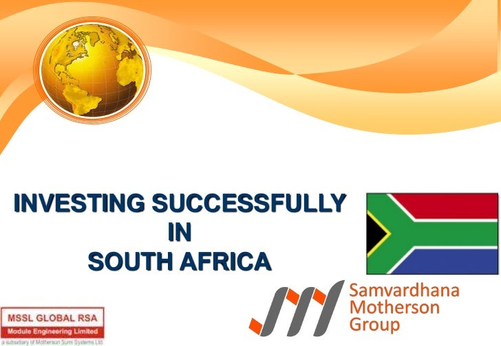 INVESTING SUCCESSFULLY <br />IN <br />SOUTH AFRICA<br />