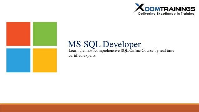 ms sql developer