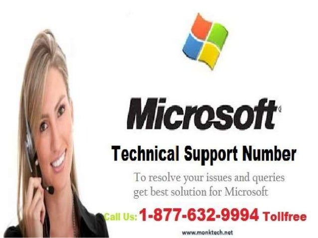 Microsoft Support Number 1-877-632-9994