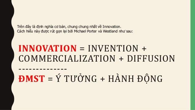 INNOVATION - INVENTION