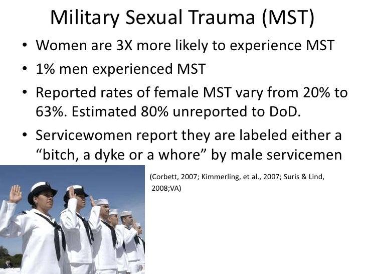 Military sexual trauma statistics 2018