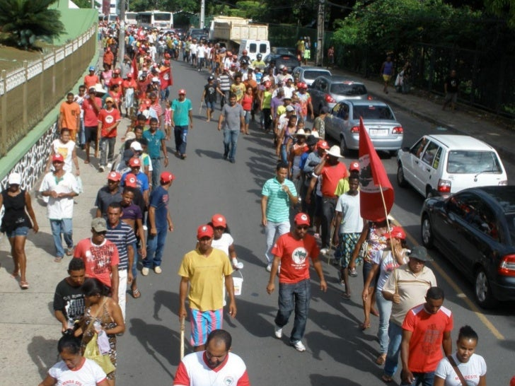 Marcha MST em Salvador, BA