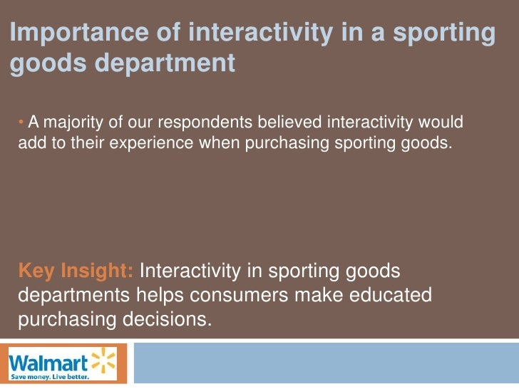 sporting goods store case study Sporting gooods store bill thompson sporting goods store bill thompson is the new manager of a retail  business policy case study case 1.