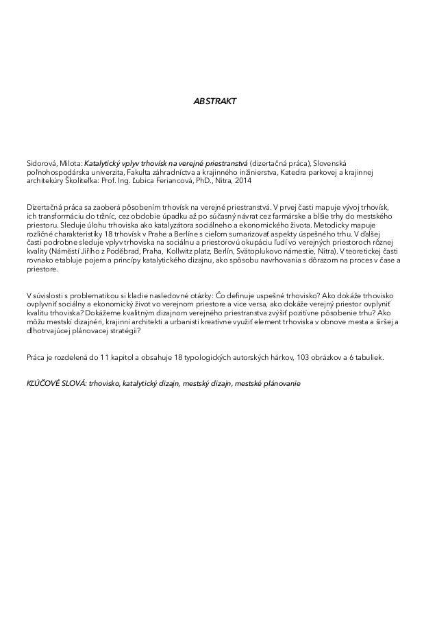 e4a7a5443c69 Katalytický vplyv trhovísk na verejné priestranstvá I Catalytic Impac…
