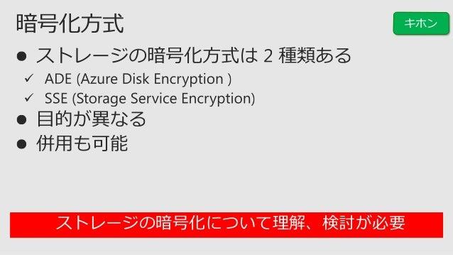  ストレージアカウントには性能上限 管理ディスク (Managed Disks) の利用を推奨