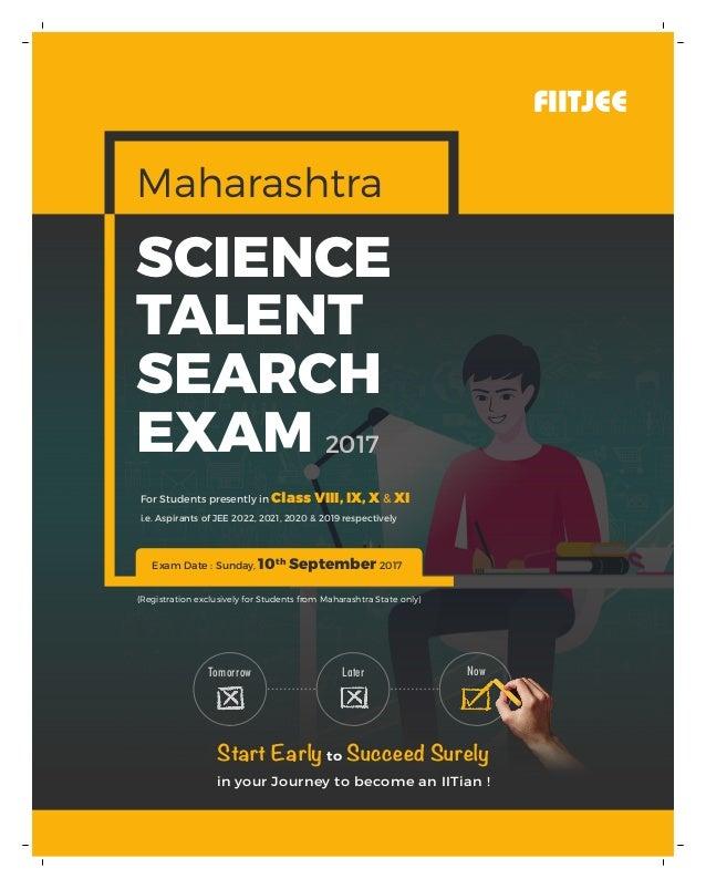 Maharashtra Science Talent Search Exam
