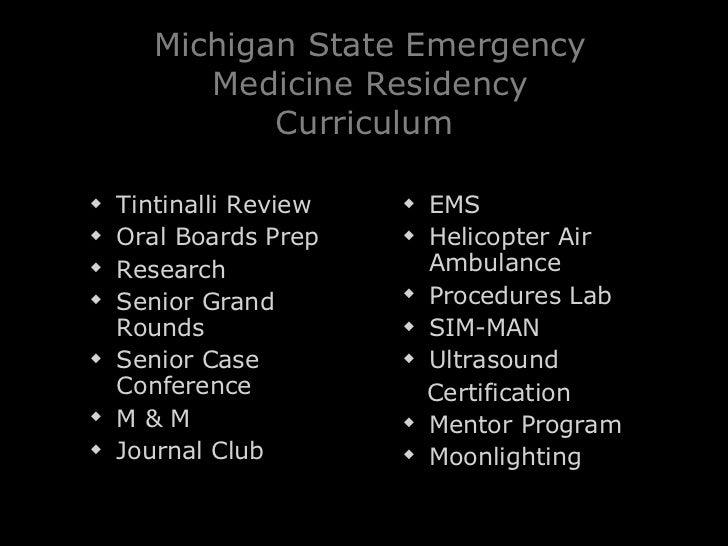 Msu Emergency Medicine Lansing Mi