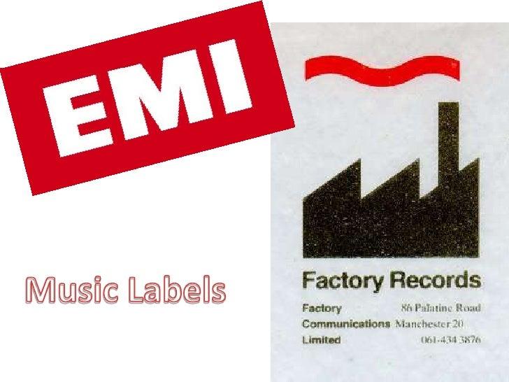 Music Labels<br />