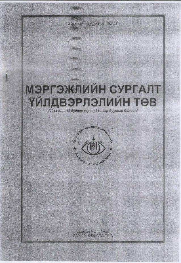 Msut audit 2015