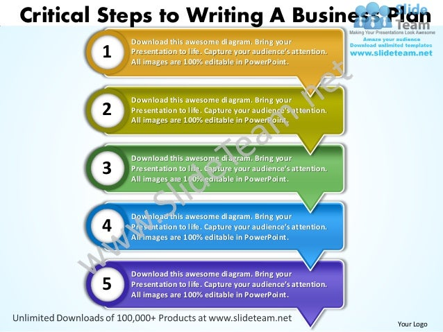 9+ steps to writing a business proposal