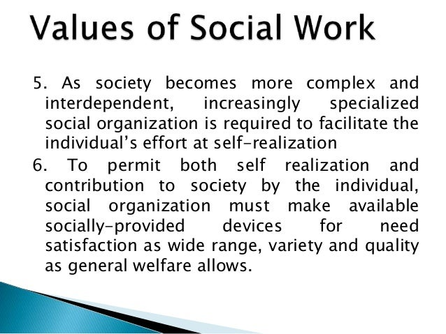 Social Work: Core Values and Ethics