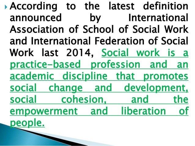 Philosophical Base of Social Work, Core Values, and Ethics